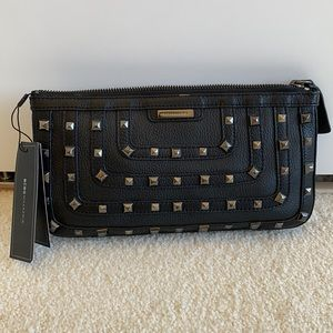 "BCBG MaxAzria ""Harper"" leather studded bag"